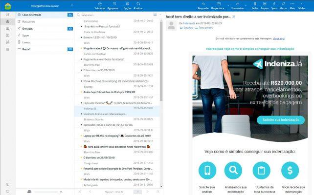 E-Mail Corporativo OfficeMail WebApp